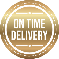 on time delivery graphic design