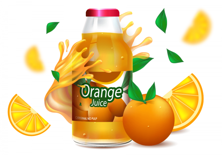labelorangejouice
